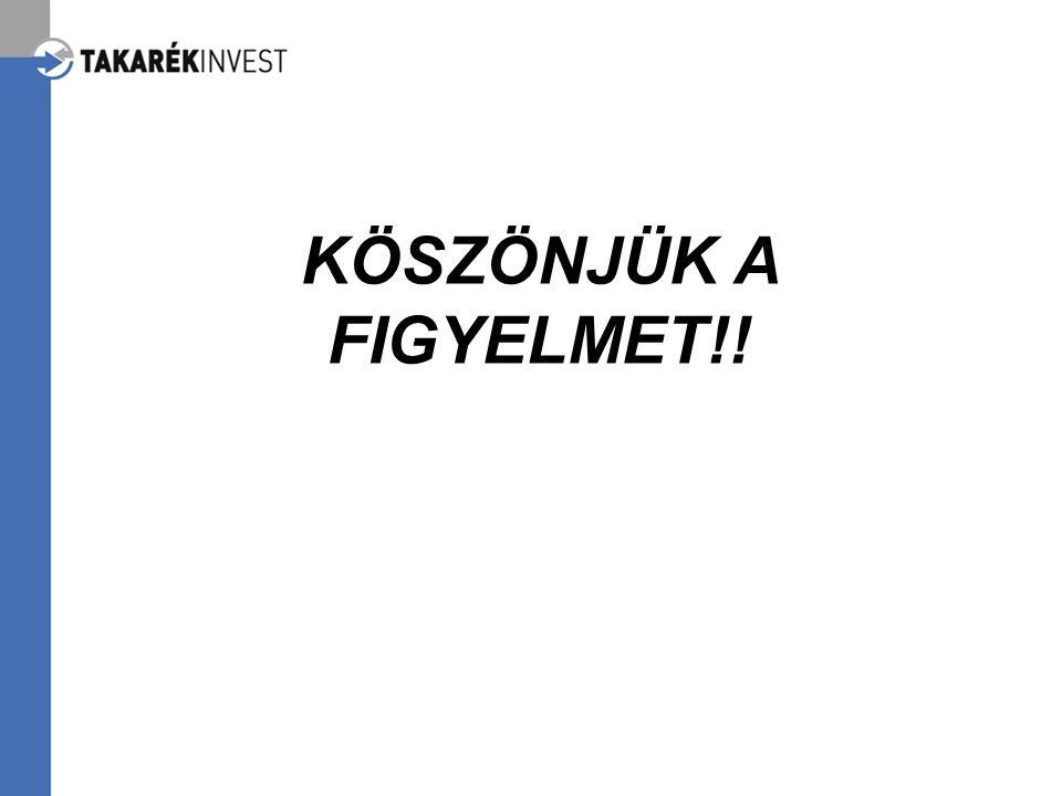 KÖSZÖNJÜK A FIGYELMET!!