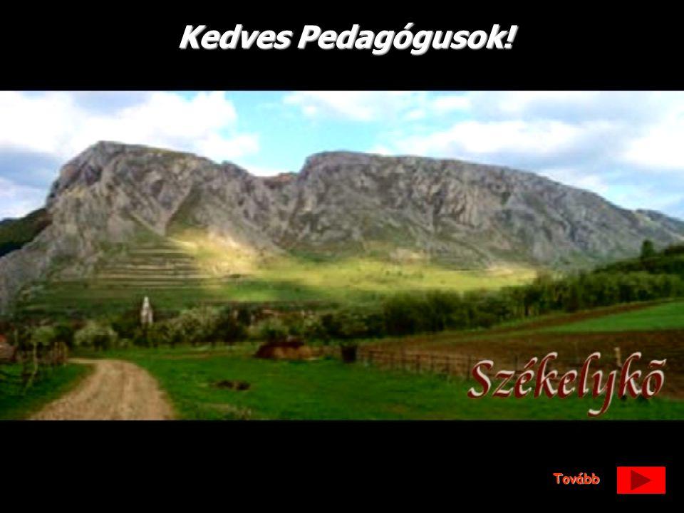 Figyelmükbe ajánljuk erdélyi táborhelyünket, amely Kolozsvártól 65 km-re Torockó faluban található.