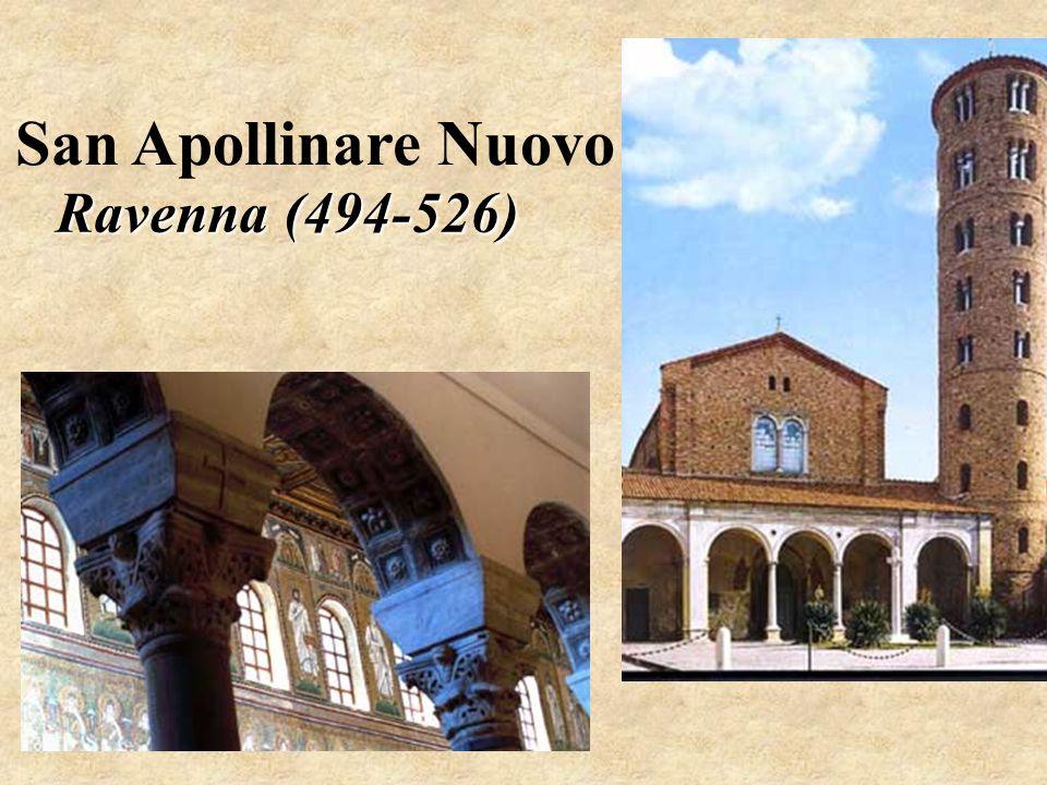 San Apollinare Nuovo Ravenna (494-526)