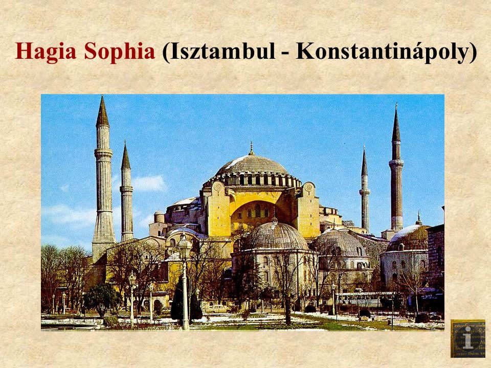 Hagia Sophia (Isztambul - Konstantinápoly)