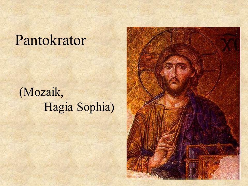 (Mozaik, Hagia Sophia) Pantokrator
