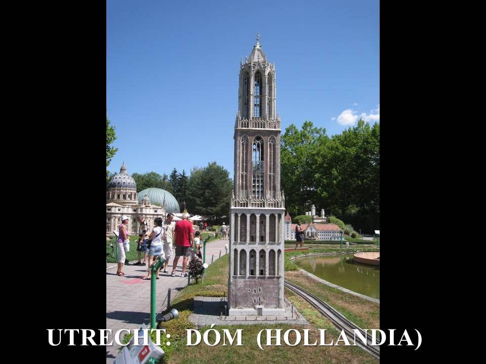 UTRECHT: DÓM (HOLLANDIA)