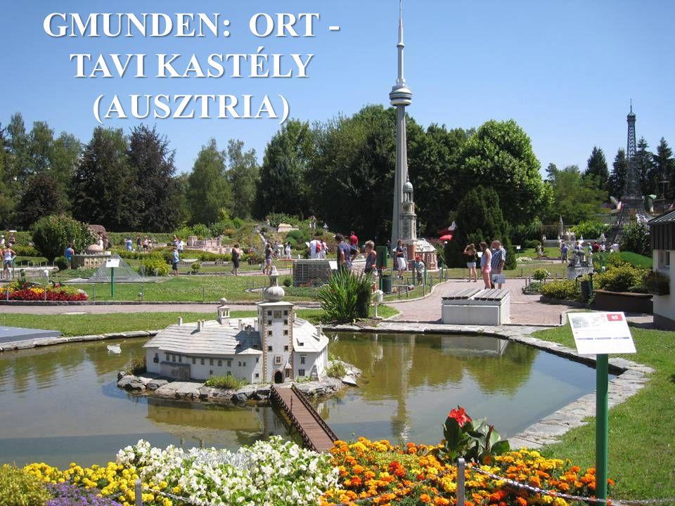 GMUNDEN: ORT - TAVI KASTÉLY (AUSZTRIA)