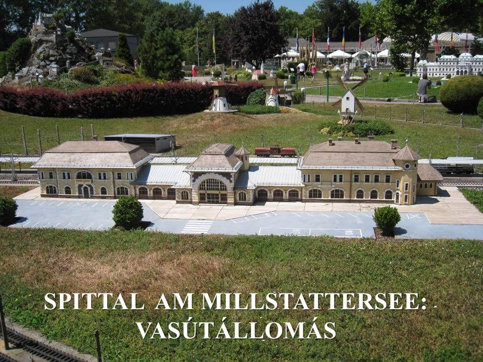 SPITTAL AM MILLSTATTERSEE: VASÚTÁLLOMÁS