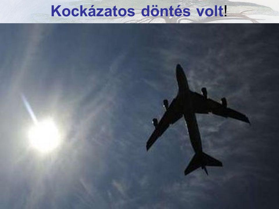 Heathrow Repülőtérről induló Jumbo Jet * 4/15/2010