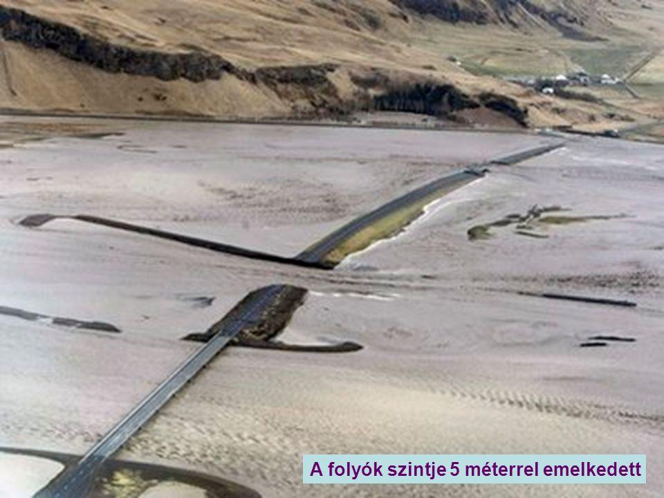 Nagyvizhozamú folyó keletkezett