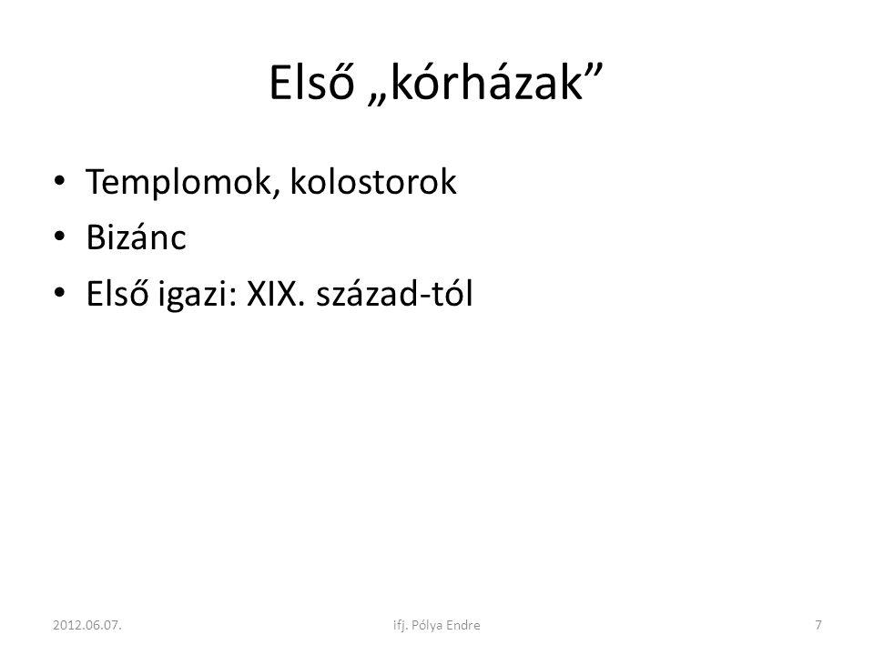 PET/CT KÉSZÜLÉKEK 2005 NUKLEÁRIS MEDICINA MÉRŐESZKÖZEI 2012.06.07.38ifj. Pólya Endre