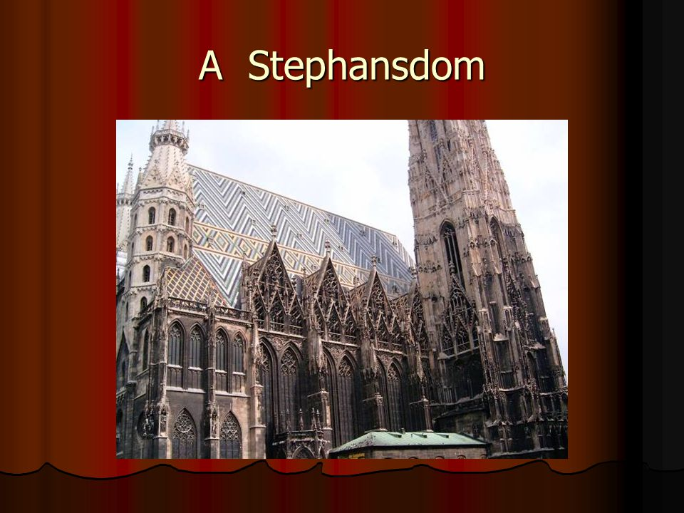 A Stephansdom