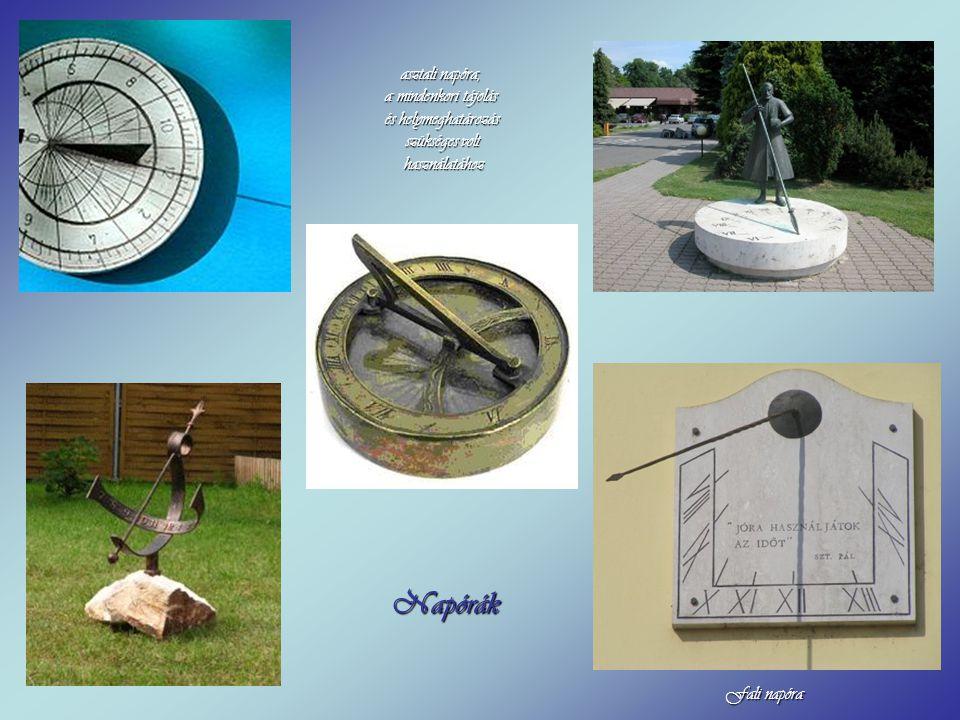Lund (Dél-svédország) régi egyetemi városának román kori székesegyházában található a 14.sz-ból származó csillagászati óra. Ennek magassága 8 m. Az ór