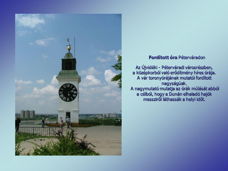 A pécsi püspöki palota levéltárának toronyórája