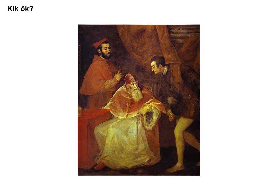 Első látásra - Az olasz nyelv rejtelmei (Tiziano, Paolo III e i suoi nipoti) • Egy öreg (idős.