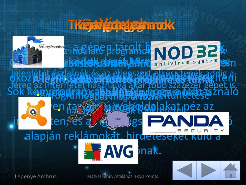 Olyan programok, amelyek önmagukban nem okoznak kárt, de képesek a háttérben segíteni egyéb ártó szándékú programokat a számítógépen. Képes sokszorosí
