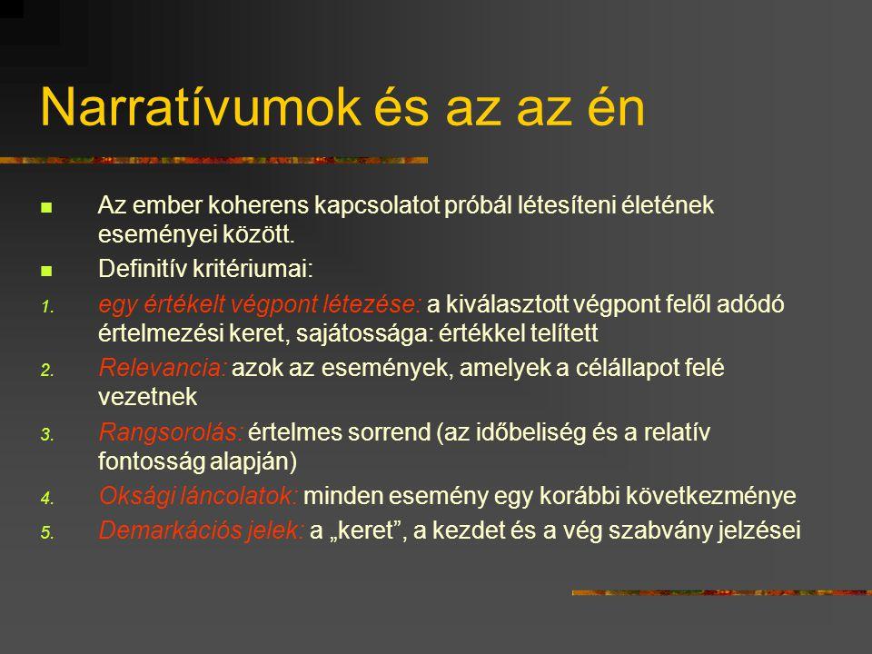 Én-ontológiák (Hankiss Á., 1980)