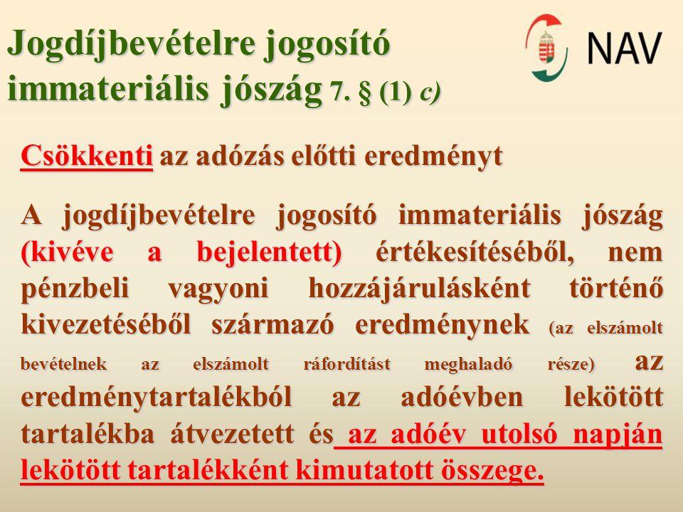 Adómérték 19.§ (1)-(2) 19.