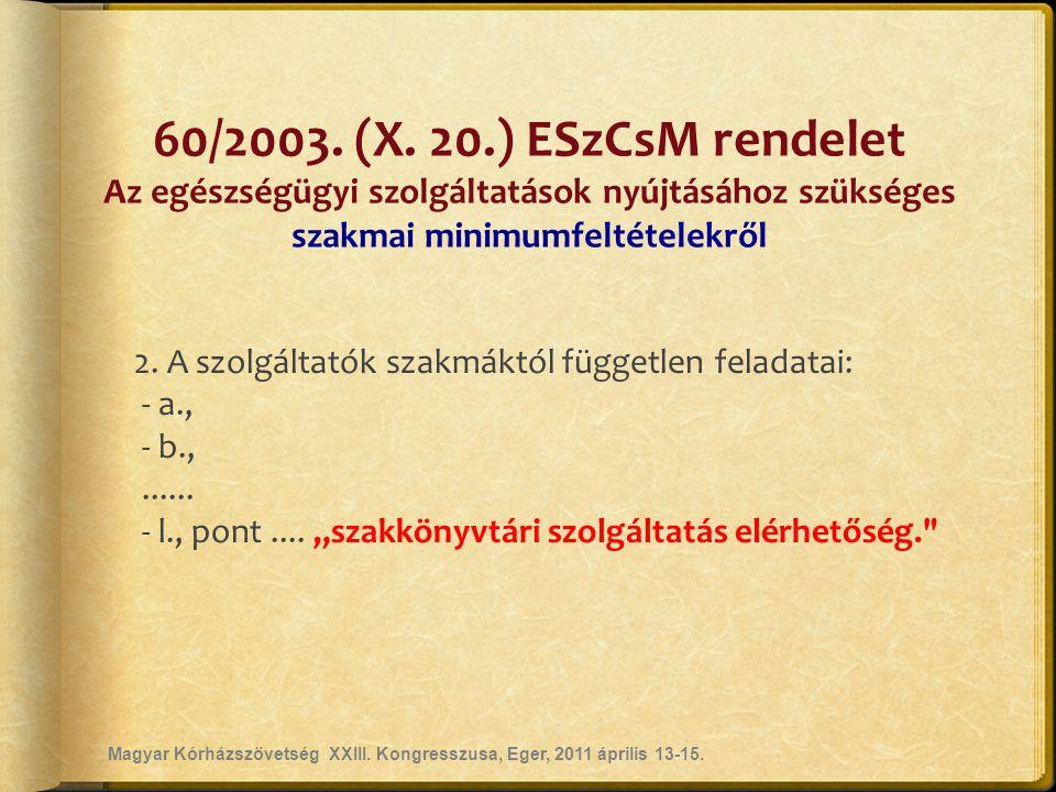 60/2003.(X.