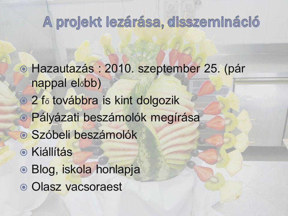  Hazautazás : 2010. szeptember 25.