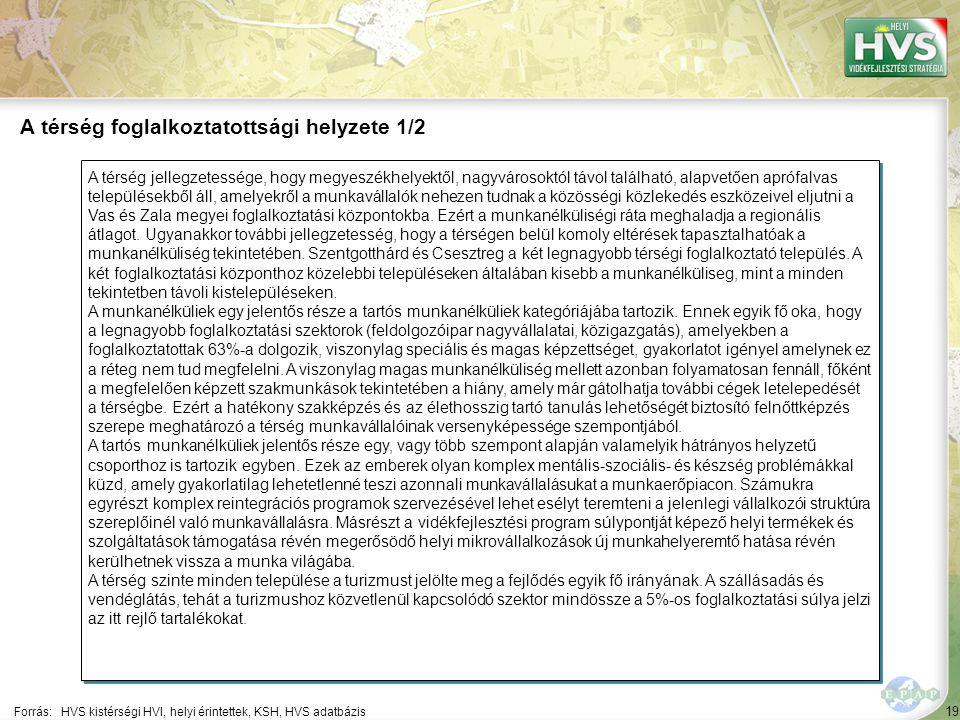 19 A térség jellegzetessége, hogy megyeszékhelyektől, nagyvárosoktól távol található, alapvetően aprófalvas településekből áll, amelyekről a munkaváll