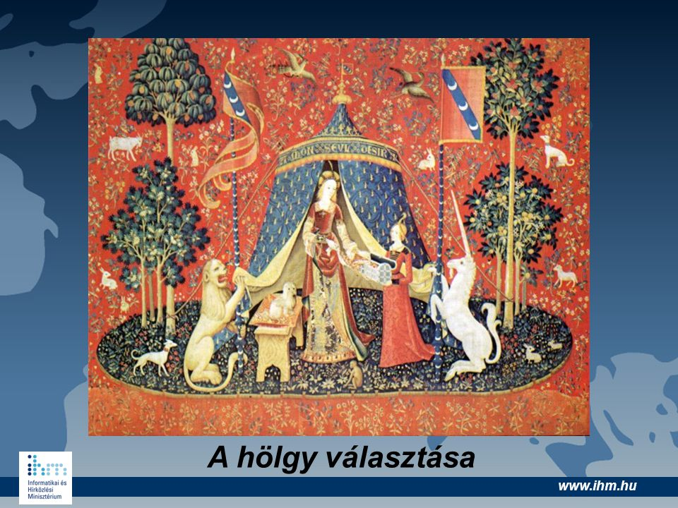 www.ihm.hu Magyar tartalmak •Sulinet, Kepido () •Nava (www.nava.hu) •NDA, Hung-art (www.nda.hu) •Digitális középiskola (www.digitaliskozepiskola.hu) •Centropa •Virtuális enciklopédia www.enc.hu •Kárpátmedencei Tudásmenedzsment
