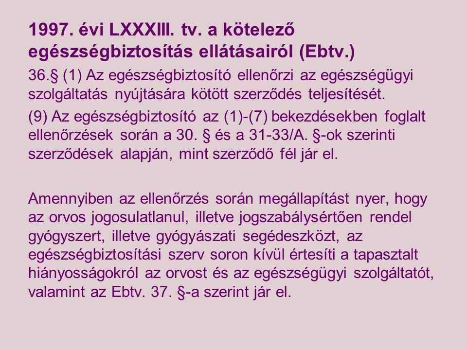 1997.évi LXXXIII. tv.