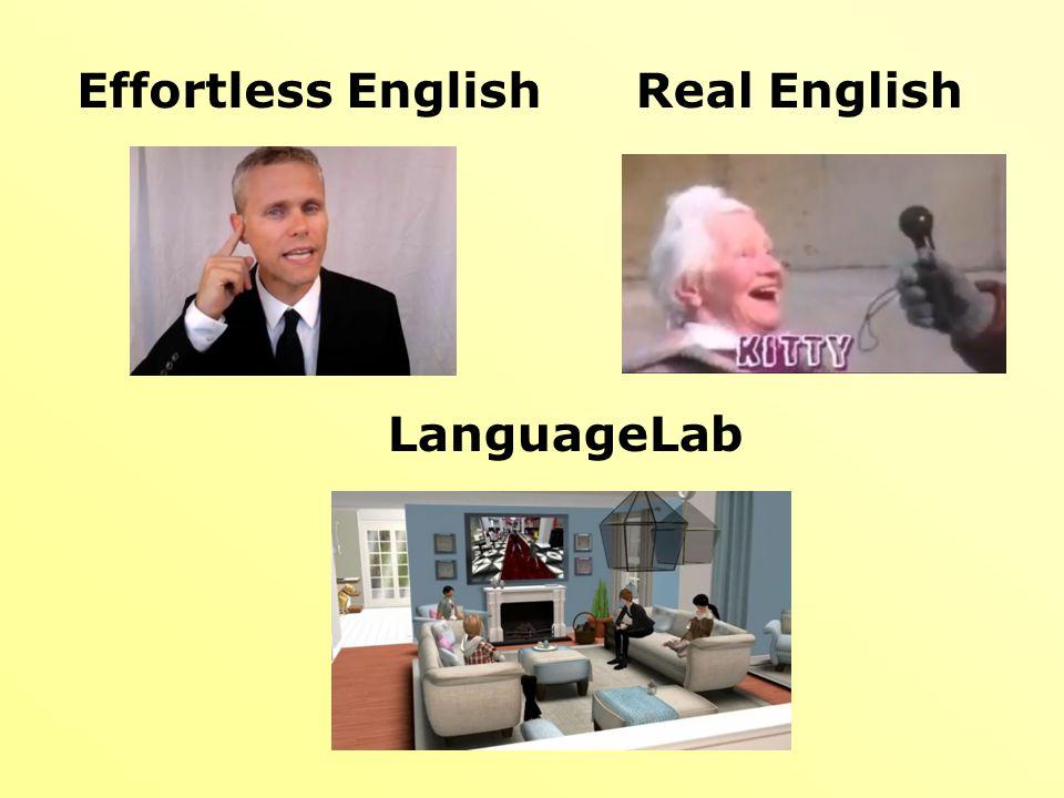Effortless EnglishReal English LanguageLab