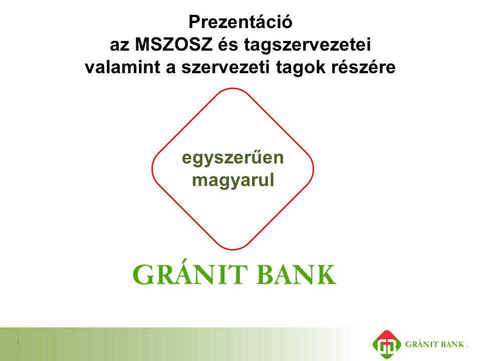 Prezentáció az MSZOSZ és tagszervezetei valamint a szervezeti tagok részére egyszerűen magyarul 1