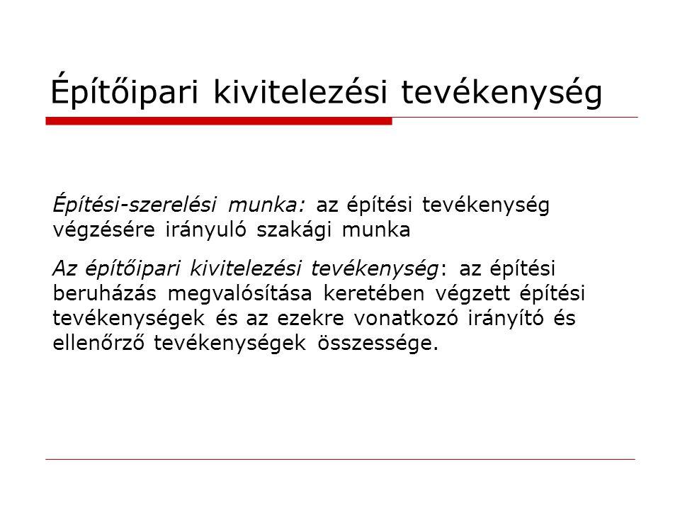 Építésfelügyeleti bírság 523.-530. Építésfelügyeleti bírságról szóló 238/2005 Korm.