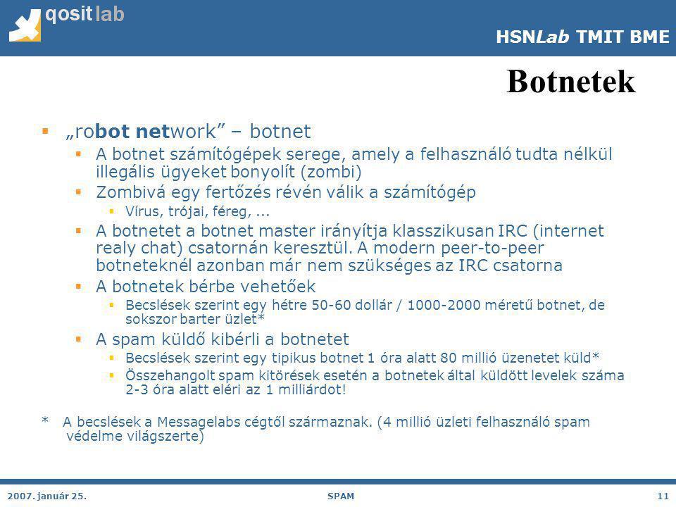HSNLab TMIT BME Botnetek 2007.