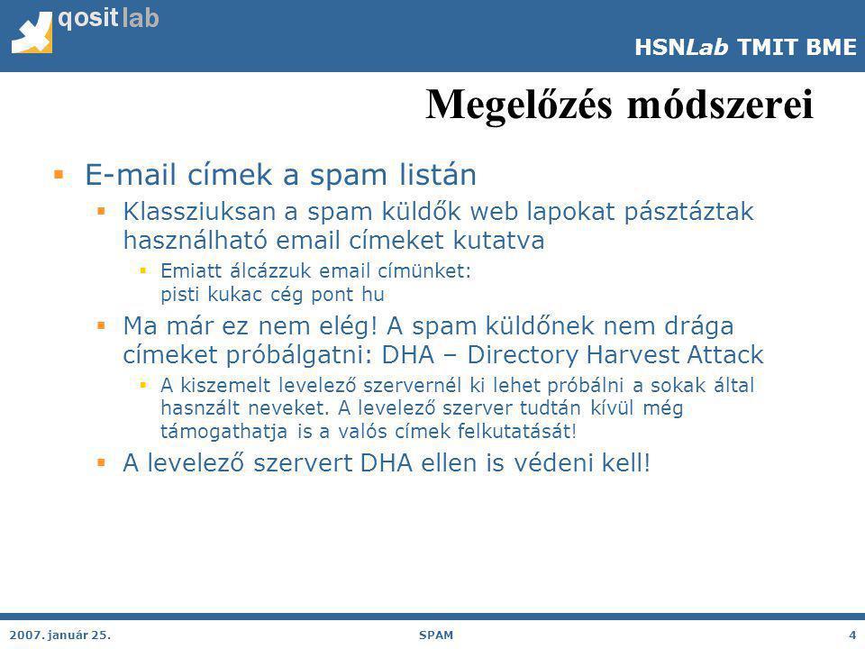 HSNLab TMIT BME Megelőzés módszerei 2007.