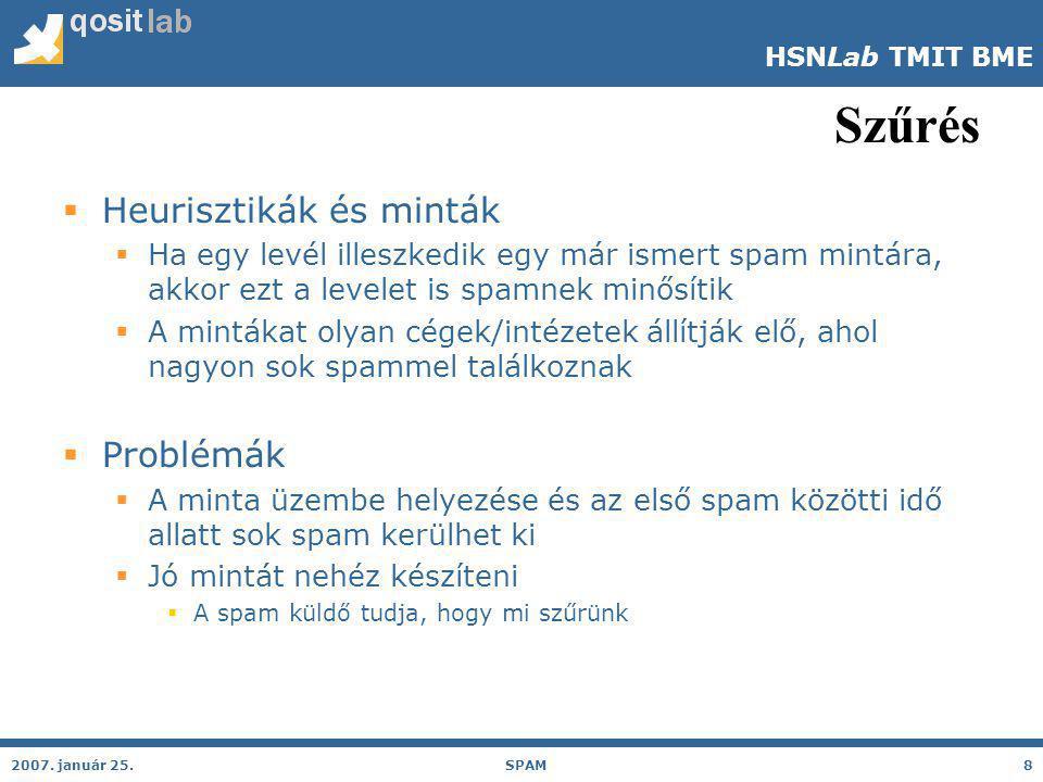 HSNLab TMIT BME Szűrés 2007.