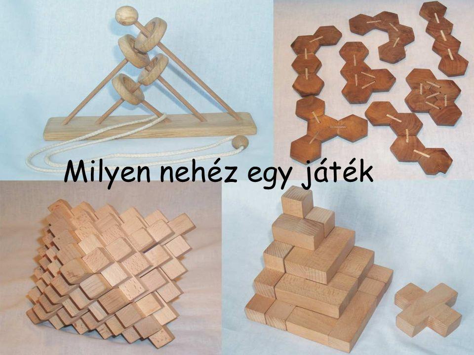 Kombinatorikus 2D összerakók Pentominó •Száma: 12 •Tengelyesen szimm: 6 •Forgásszimm: 3 •Szimmetria nélkül: 5 •Egybevágók: 0 Elemek: