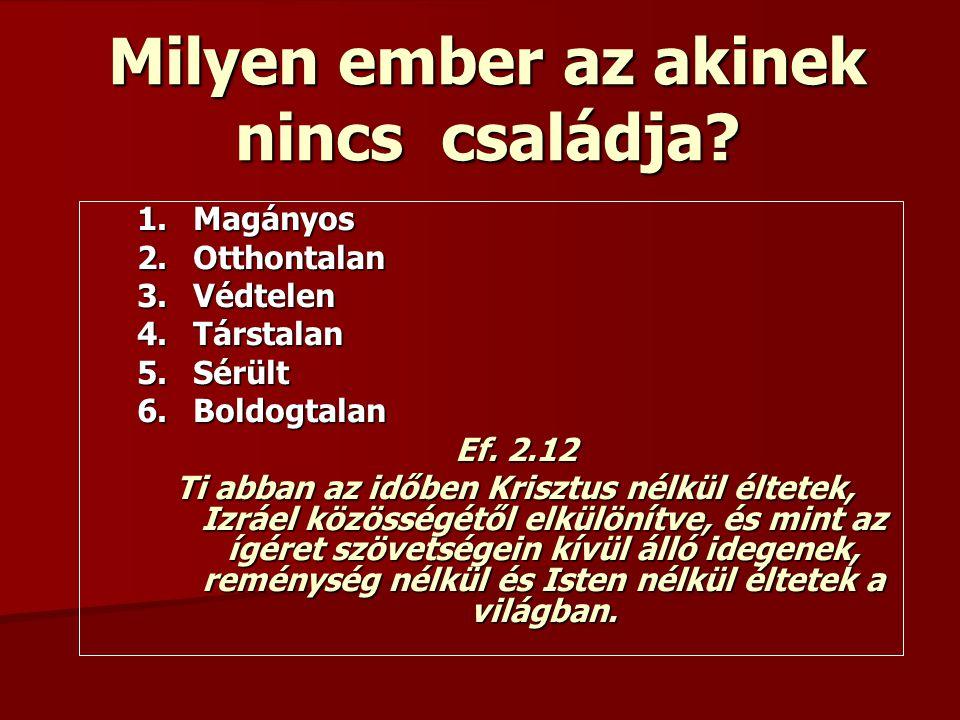 Kérdések: 1.A gyülekezet építő tagja vagy-e. 2. Miben nyilvánul ez meg.