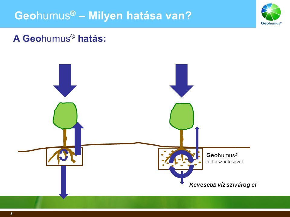 9 Geohumus ® –Milyen hatása van.