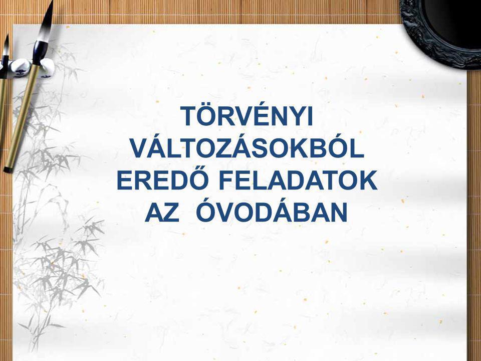 A JOGSZABÁLYOK MEGTALÁLHATÓK •http://www.nefmi.gov.huhttp://www.nefmi.gov.hu •http://www.kormany.hu/hu/emberi-eroforrasok- miniszteriumahttp://www.kormany.hu/hu/emberi-eroforrasok- miniszteriuma •http://www.tehetsegprogram.hu/http://www.tehetsegprogram.hu/