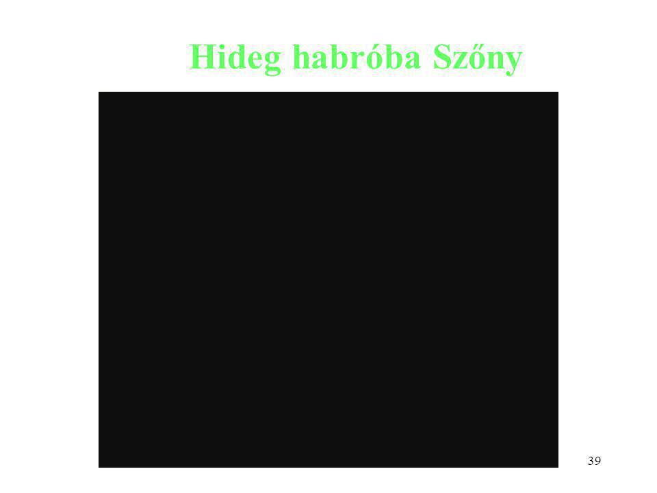 39 Hideg habróba Szőny Szőcs István: Környezetkímélő technológiák kutatás-fejlesztése tartálytüzek oltására.