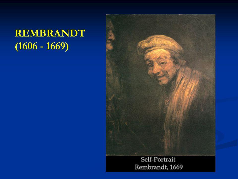 REMBRANDT (1606 - 1669)