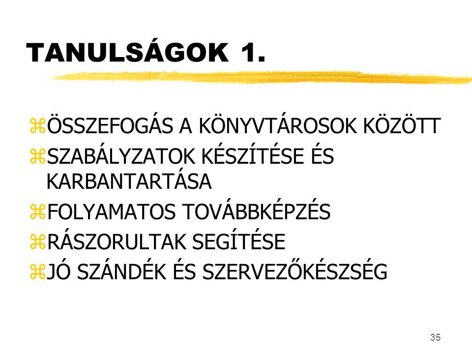 35 TANULSÁGOK 1.