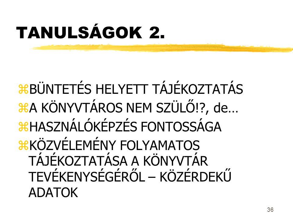 36 TANULSÁGOK 2.