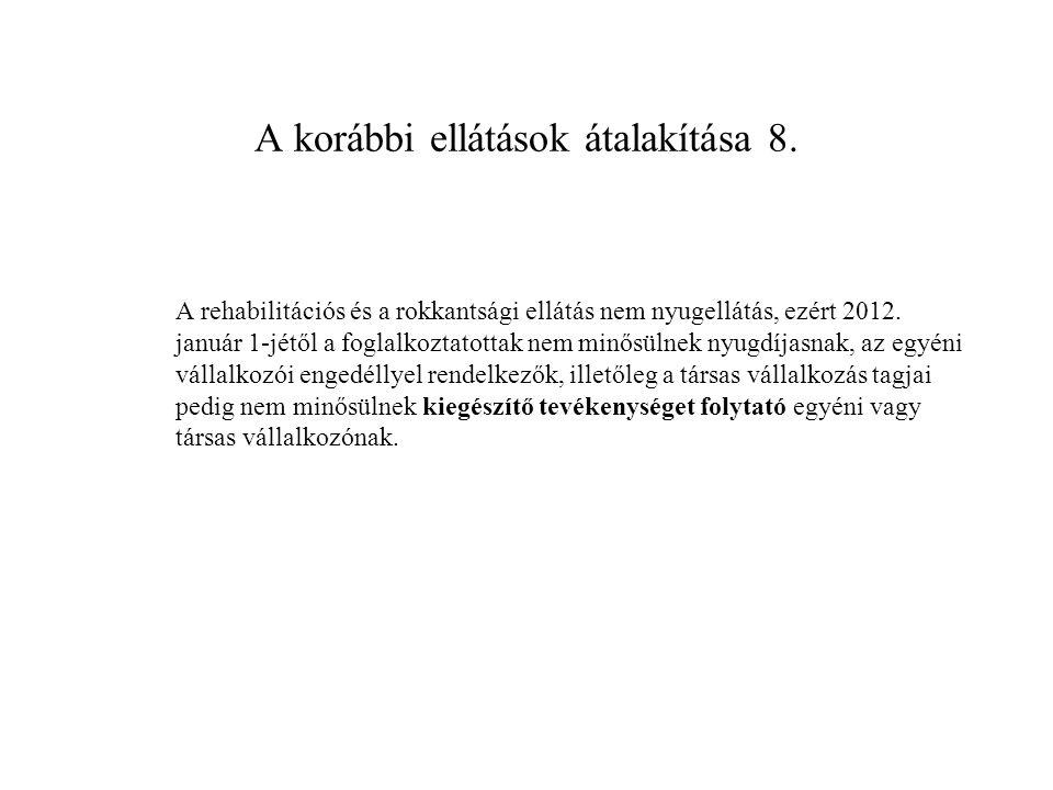 A folyamatban lévő ügyek kezelése 1.A 2011.12.31.
