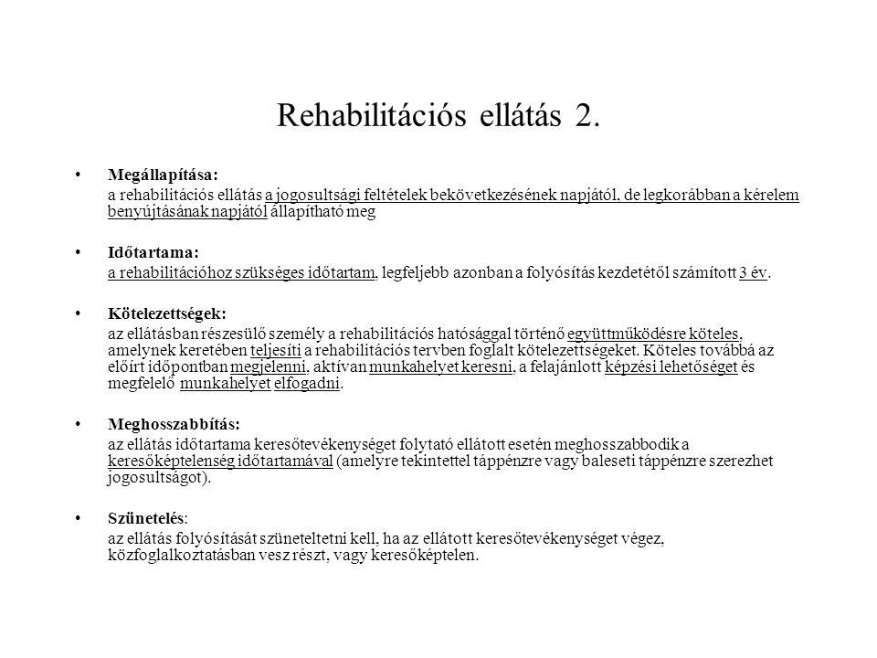 Rehabilitációs ellátás 3.