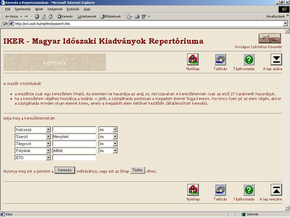 A kétszáz éves Széchényi Könyvtár új lehetőségei Horváth Ádám - OSZK Két példa  Metaadat - elektronikus dokumentum