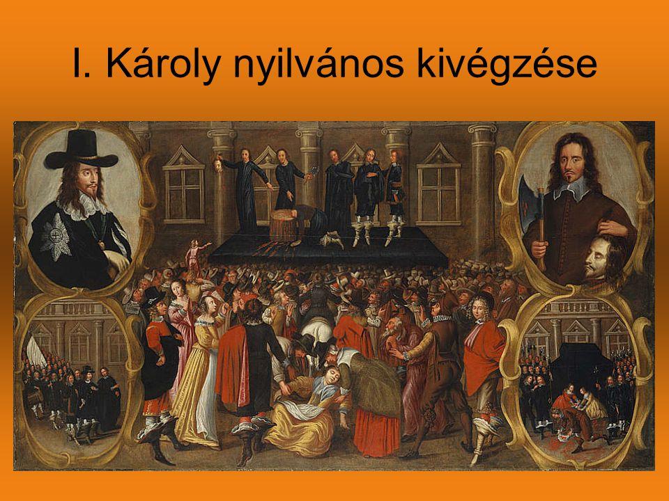 I. Károly nyilvános kivégzése
