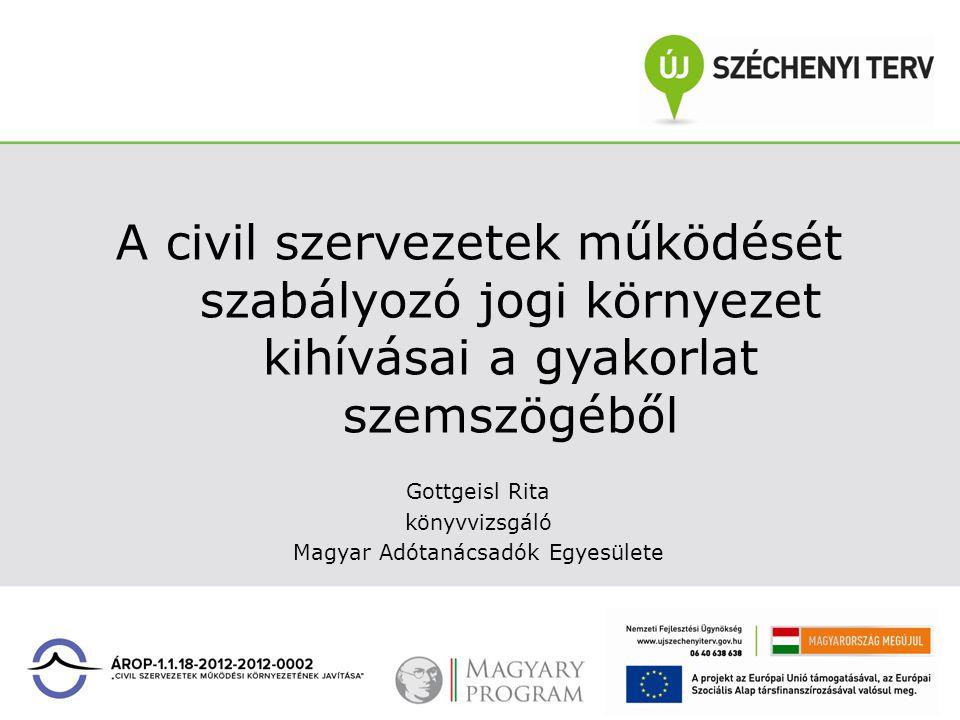 Civil szervezetek beszámolója A civil szervezet köteles a jóváhagyásra jogosult testület által elfogadott beszámolóját, valamint közhasznúsági mellékletét – ha kell, könyvvizsgálói jelentéssel együtt – az adott üzleti év mérlegforduló napját követő 5.