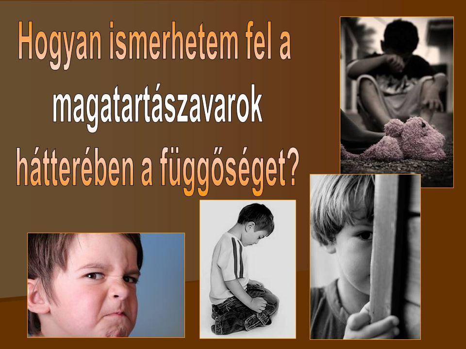 A jellemzők  A szenvedélybetegek felnőtt gyermekei találgatják, hogy mi a normális.