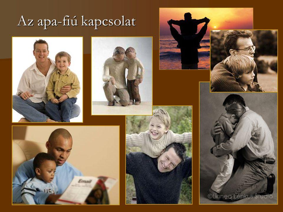 Az apa-fiú kapcsolat