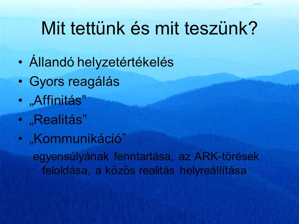 Mit tettünk és mit teszünk? •Szlovákiai iroda alapítása, fejlesztése