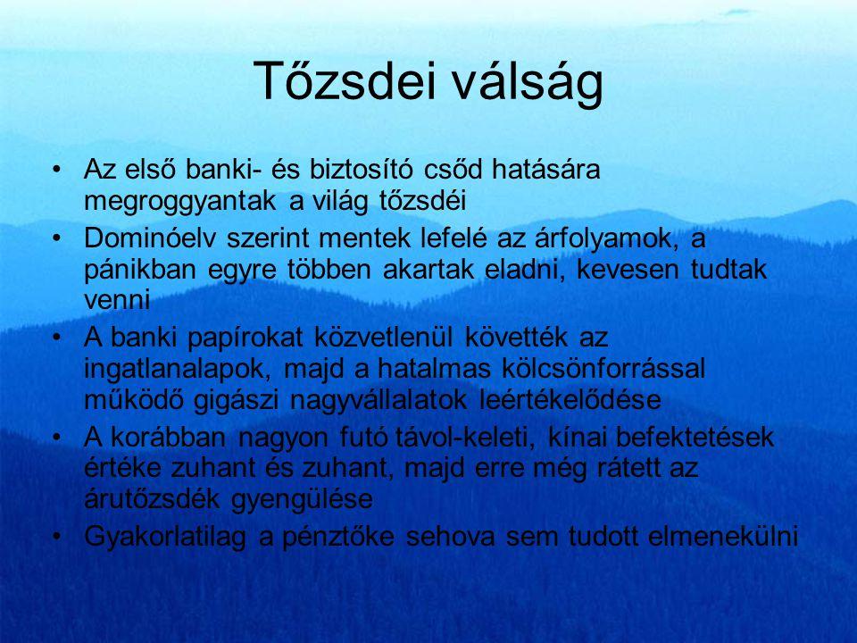 """""""A hitel híja szinte minden mozgást megakaszt Széchenyi István •Magyarország - saját hazai megtakarítások híján - gyakorlatilag kizárólag a külföldi finanszírozástól függ: az állami költségvetés, a vállalatok és a lakosság egyaránt."""