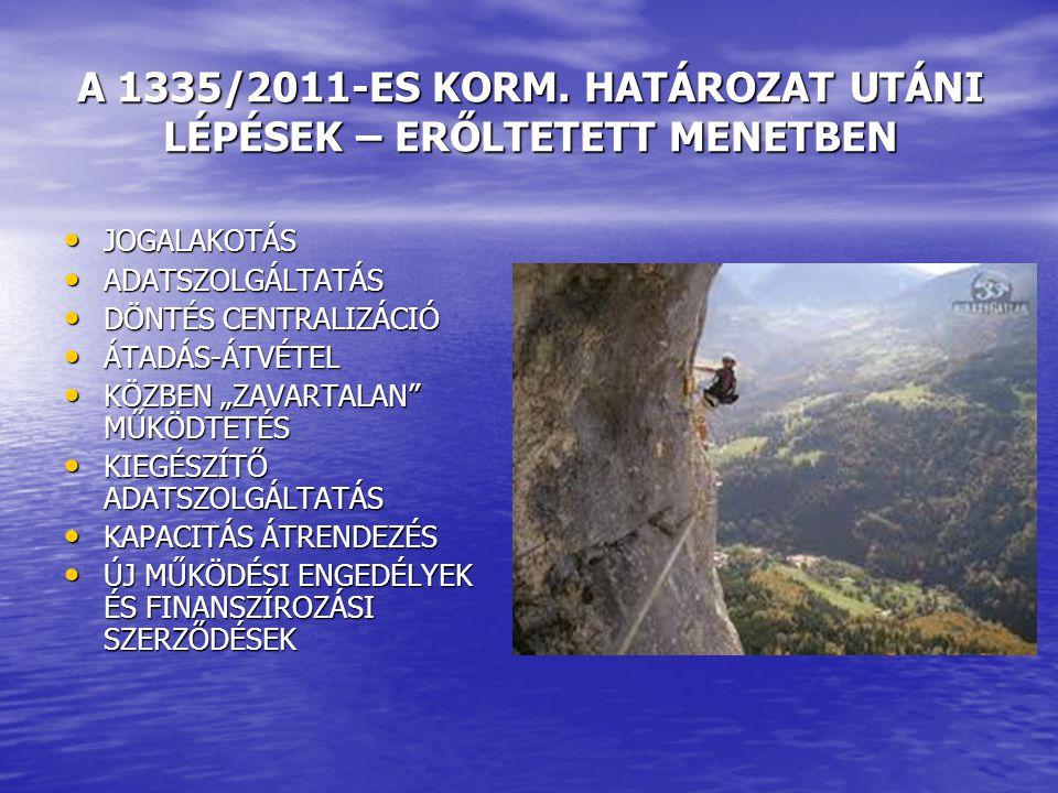 A 1335/2011-ES KORM.