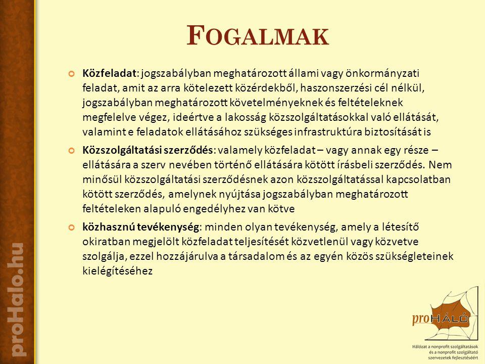 K ÖZHASZNÚSÁG Közhasznú szervezetté minősíthető a Magyarországon nyilvántartásba vett - létesítő okiratában megjelölt közfeladat teljesítésére irányuló - közhasznú tevékenységet végző szervezet, amely a társadalom és az egyén közös szükségleteinek kielégítéséhez megfelelő erőforrásokkal rendelkezik, továbbá amelynek megfelelő társadalmi támogatottsága kimutatható, és amely: A közhasznú tevékenységet végző szervezet hozzájárul a társadalom és az egyén közös szükségleteinek kielégítéséhez, amennyiben az előző évről szóló beszámoló közhasznúsági melléklete célcsoportra vonatkozó adatai alapján a szervezet szolgáltatásai a szervezet testületi tagjain, munkavállalóin, önkéntesein kívül más személyek számára is hozzáférhetőek.