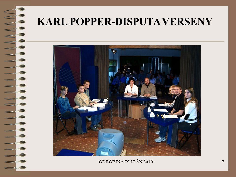 ODROBINA ZOLTÁN 2010.7 KARL POPPER-DISPUTA VERSENY