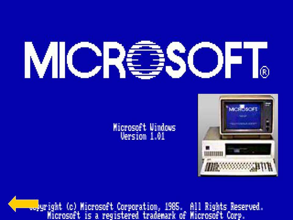   Mikor az első Windows megszületet nagyon nagy sikervolt.